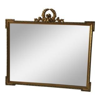 Gilded Laurel Wreath Mirror