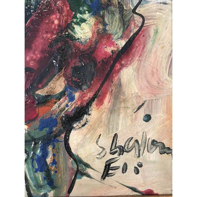 'My Friend Miro' Painting - Image 6 of 11
