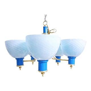 Vintage & Used Blue Chandeliers | Chairish