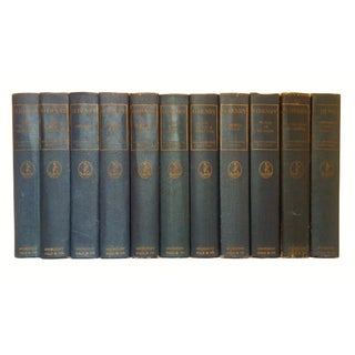 Blue Books by O. Henry, 1923 - Set of 11