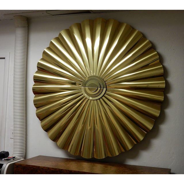 Large Curtis Jere Starburst Wall Sculpture - Image 3 of 7