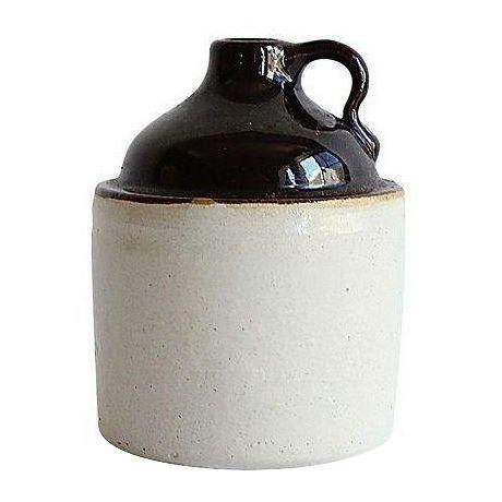 Image of Salt-Glazed Moonshine Jug