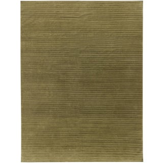Contemporary Wool Hand Knotted Rug - 10'x13'