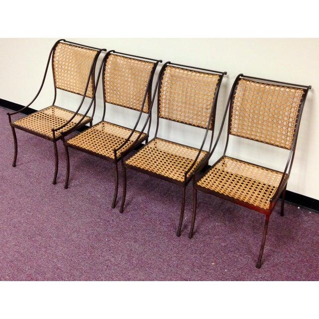 John Vesey Mid-Century Cane Back Chairs - Set of 4 - Image 2 of 10