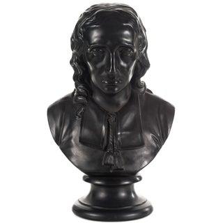 Wedgwood Black Basalt Bust of John Milton