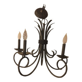 Iron 5 Light Chandelier