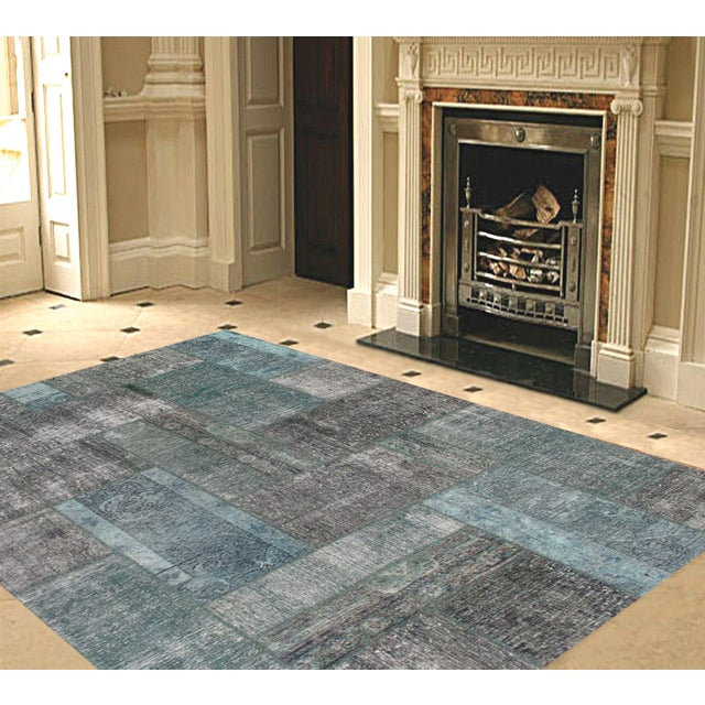"Pasargad Patchwork Collection Rug - 5'8"" X 7'10"" - Image 2 of 2"