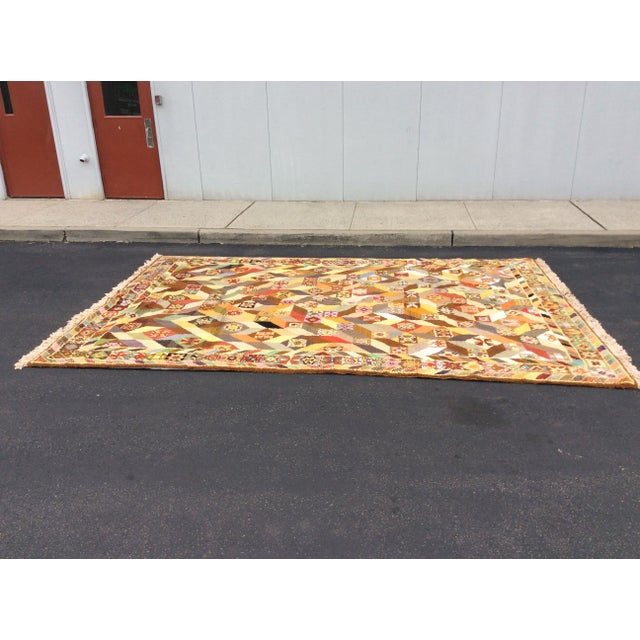 """Image of 1960s Modern Wool Hand Knotted Rug 9' 3"""" x 14' 1"""""""