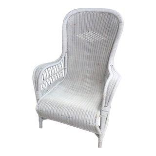 Vintage Dryad Art Deco Wicker Armchair