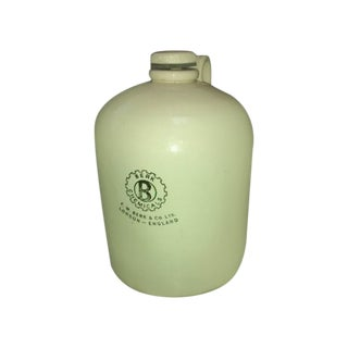Large Apothecary English Chemical Scientific Jug