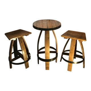 Barrel Bistro Dining Set