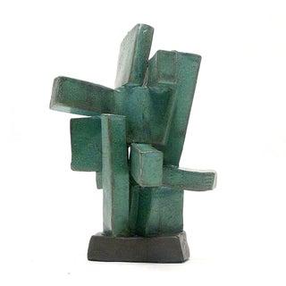 Modernist Totem Ceramic Sculpture by Judy Engel