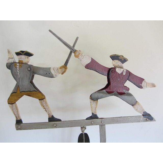 """The Duel"" Balancing Folk Art - Image 3 of 8"