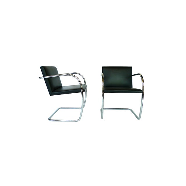 Ludwig Mies Van Der Rohe Brno Chairs - A Pair - Image 2 of 8