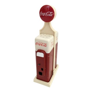 Coca Cola Salt & Pepper Shakers - A Pair