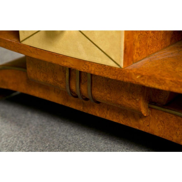 Art Deco Style Nighstands Tables - A Pair - Image 4 of 9