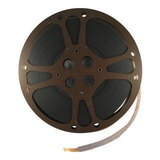 Vintage 16mm Brown Film Reel