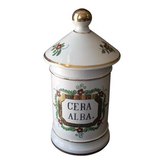 Vintage French Pharmacy Jar