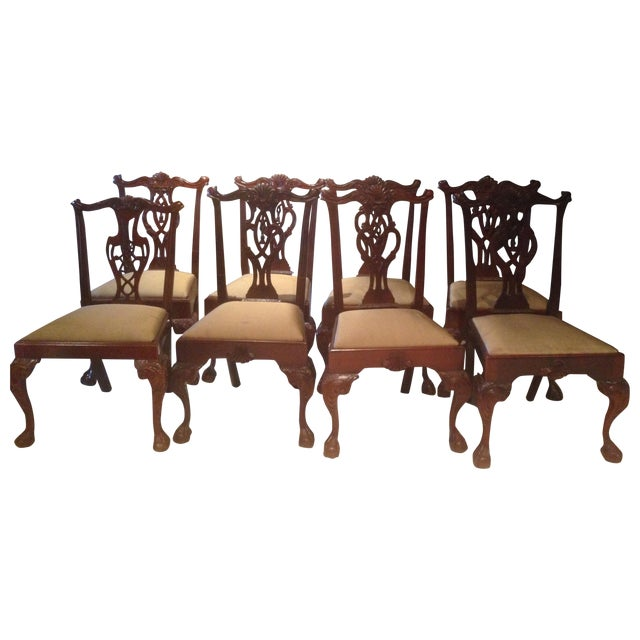 Hickory Chair Mt. Vernon Dining Chairs - Set of 8 - Image 1 of 8