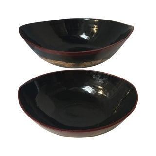 Bamboo Bowls - A Pair