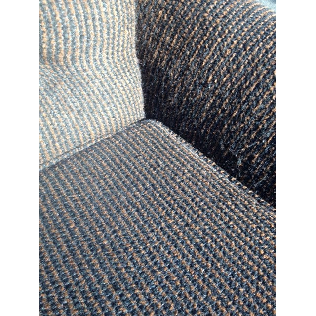 Mid-Century Modern Tufted Brown Club Chair - Image 6 of 9