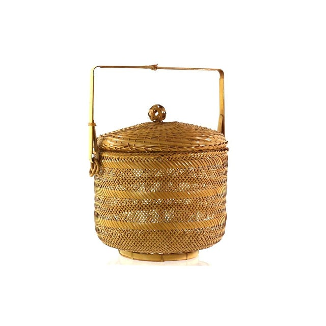 1930s Finely Woven Vintage Japanese Basket - Image 1 of 5