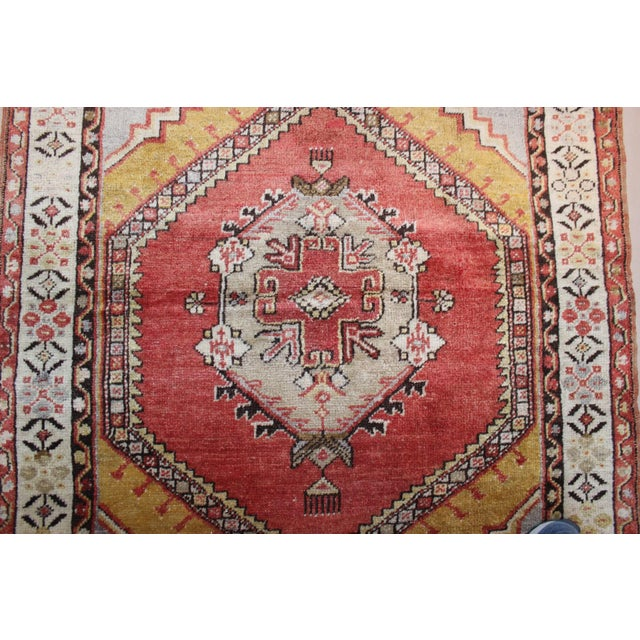 Vintage Turkish Woven Rug - 3'2'' x 4'7'' - Image 6 of 7