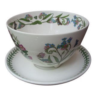 Portmeirion Berry Bowl & Underplate