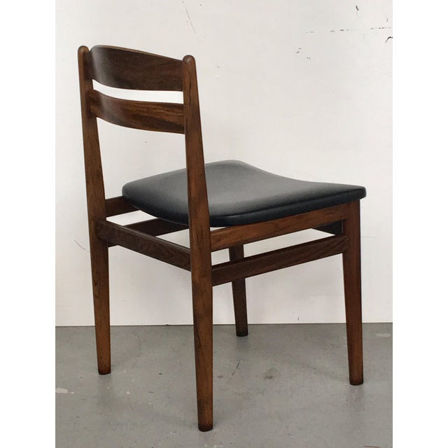 Danish Modern Rosewood Dining Chairs - Set of 6 - Image 6 of 8