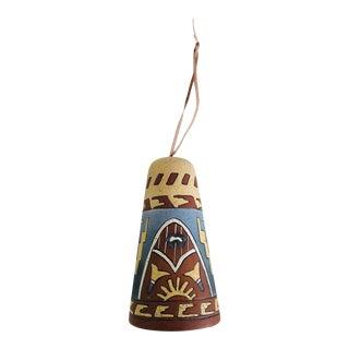 Boho Desert Tribal Ceramic Bell
