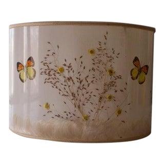 Van Briggle Butterflies & Flowers Lampshade