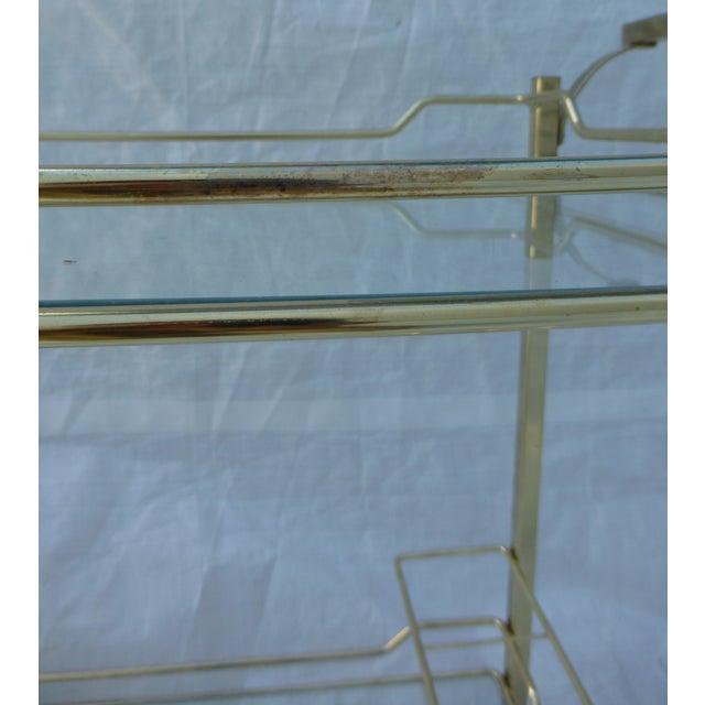 Hollywood Regency Styled Bar Cart - Image 9 of 11