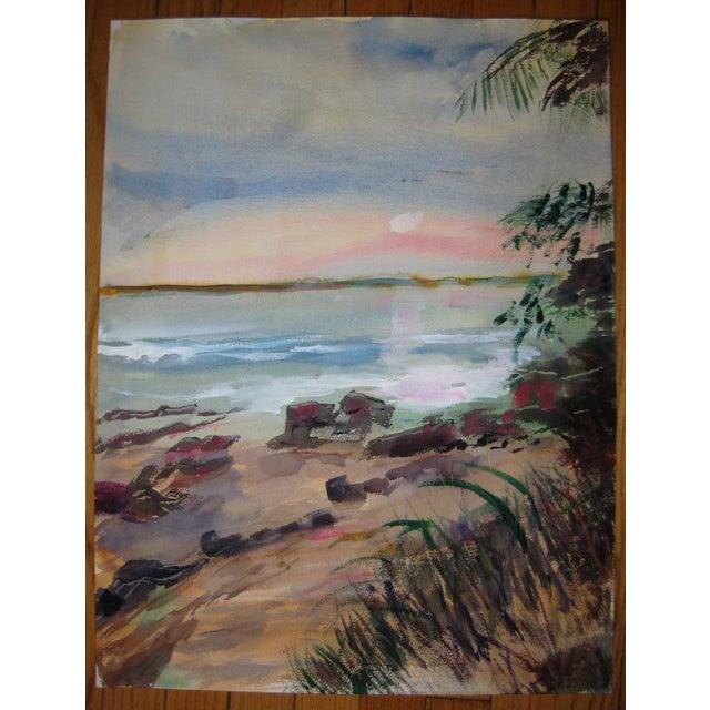 Original Alice J.Behrle Water Color Painting - Image 2 of 3