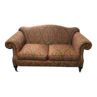 Sherril Funiture Camel Back Loveseat