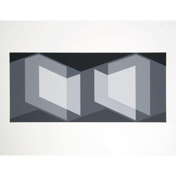 "Josef Albers ""Portfolio 2, Folder 7, Image 1"" Print - Image 2 of 3"