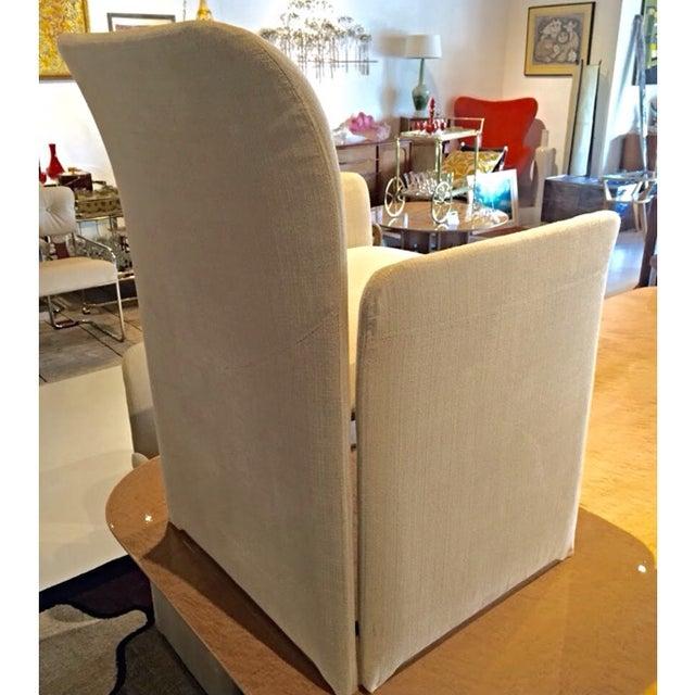 Image of Saporiti Italia Lewes Dining Chairs - Set of 8