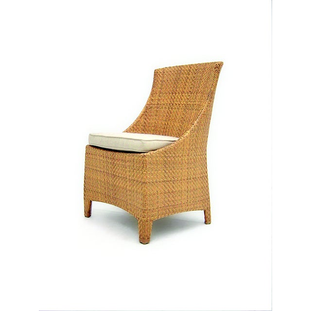 Image of St Tropez Outdoor Side Chair in Natural