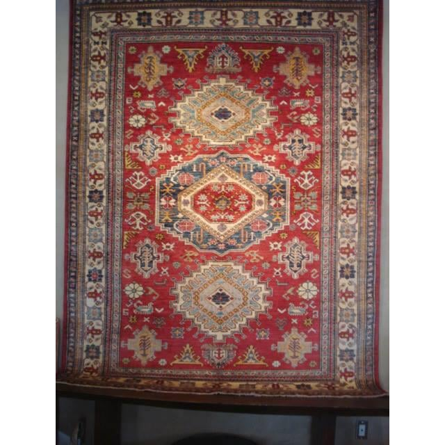 """Hand Woven Naturally Dyed Rug - 5'10"""" x 8' - Image 2 of 4"""