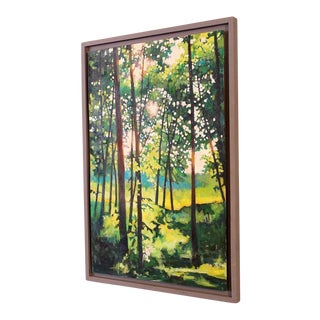 "Original Acrylic Painting Landscape by Kevin Conklin ""Poet's Walk 5"""