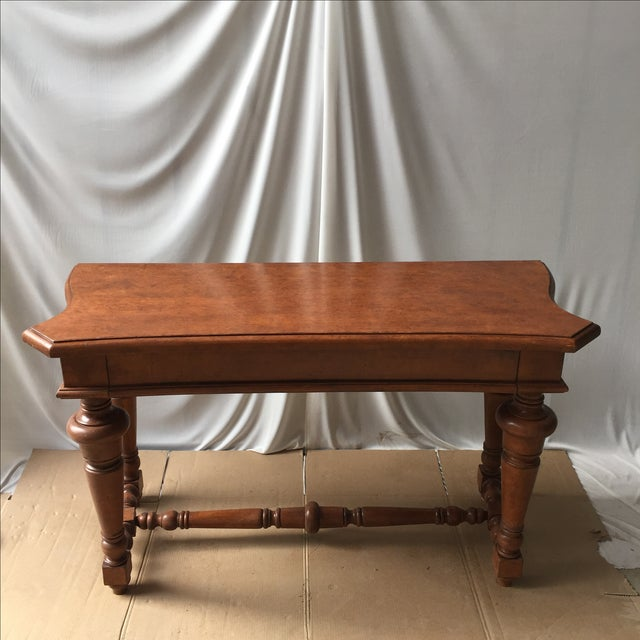 Transitional Wooden Console - Image 2 of 4