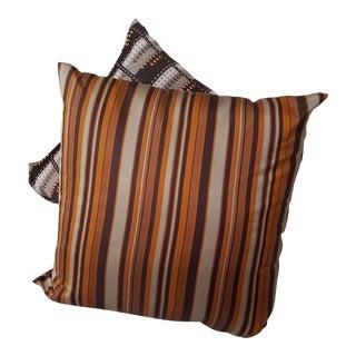 Eric Soroe Handsewn Silk Pillows - a Pair