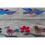 """Image of Mexican Gray Wool Rug - 2'6"""" X 4'11"""""""