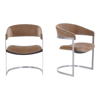 Pair of Milo Baughman for Thayer Coggin Armchairs