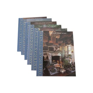 American Country Books - Set of 6