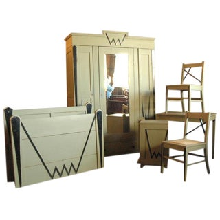 Austrian Deco 6 pc. Bedroom Set