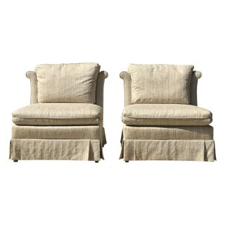 Heritage Slipper Chairs - A Pair