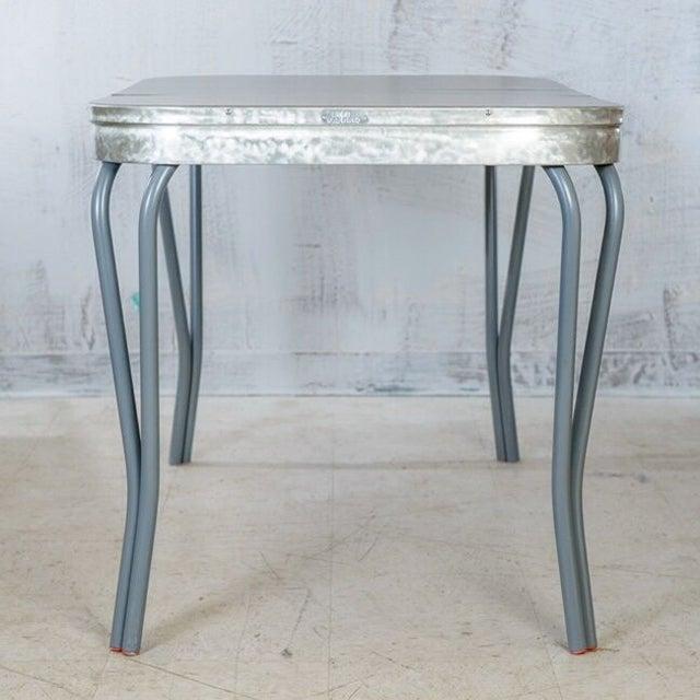 Image of 1960's Era Modern American Kitchen Table