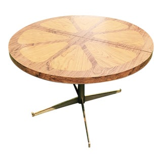 Walter of Wabash Mid Century Modern Orange Slice Table