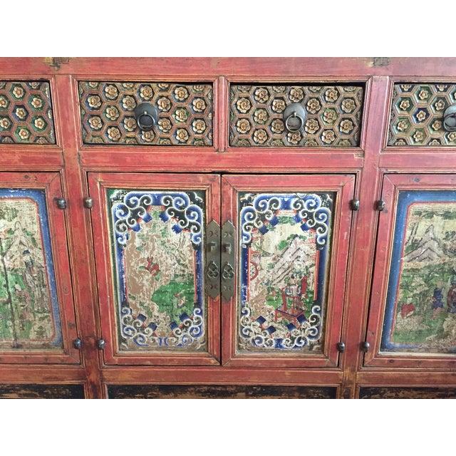 ABC Carpet & Home Vintage Asian Credenza - Image 7 of 9