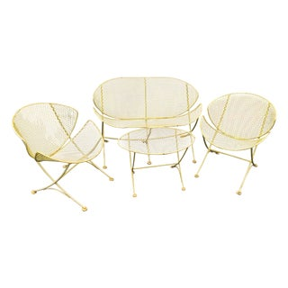 "4-Piece Salterini ""Orange Slice"" Patio Set"